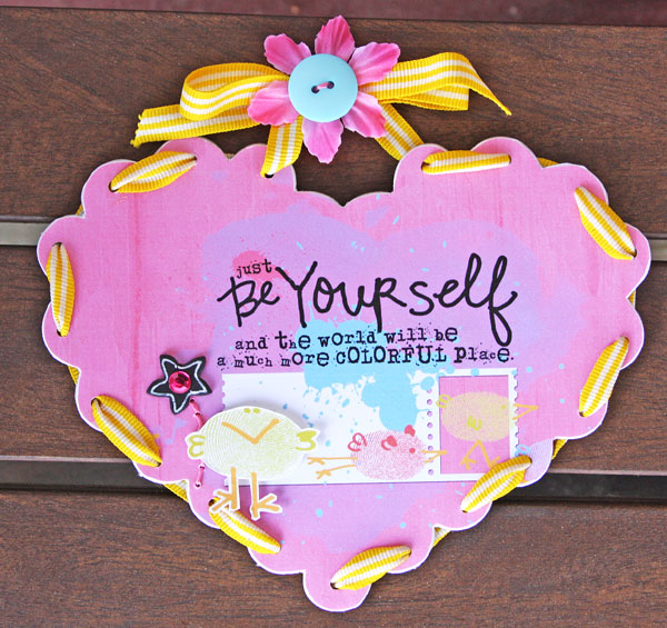 Be-Yourself-wall-hanging