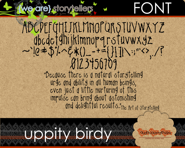 Aneal-uppitybirdy-detail