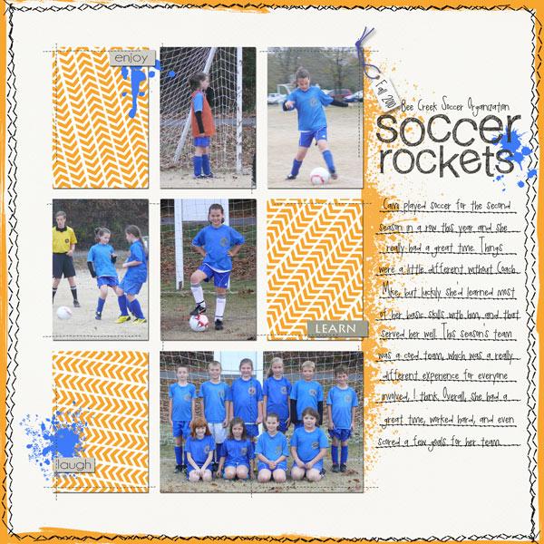 Soccer-rockets